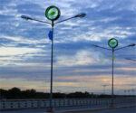 Lichtmast wordt windmolen voor extra groene energie