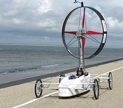 Racing Aeolus: windracen tegen de wind in