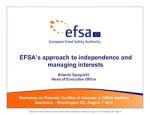Europese Voedselautoriteit EFSA nog steeds gedomineerd door belangenconflicten