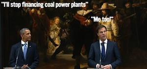 Obama en Rutte voor schaliegas?