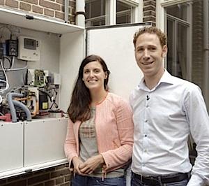 Hannah Frederiks en Christiaan Beljaars