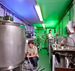 Eerste proeffabriek voor algenraffinage in gebruik