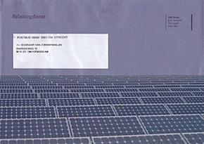 belasting op eigen zonnestroom