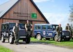 Elektrische Land Rovers voor bosbeheer