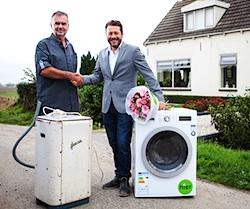 oudsta wasmachine vervangen