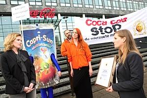 Coca Cola krijgt Gouden Windei