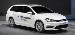 VW Golf op waterstof