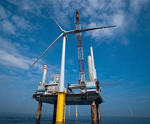 Een windpark op zee bouwen