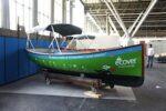 Boot van plastic soep op de Hiswa
