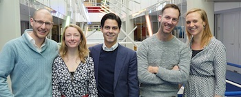 De winnaars van de Nudge Leadership Challenge 2014