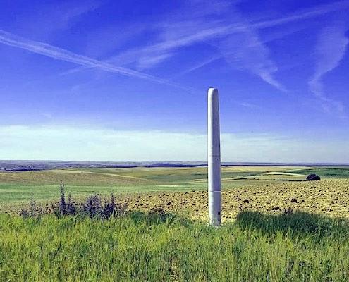 vortex windmolen zonder wieken