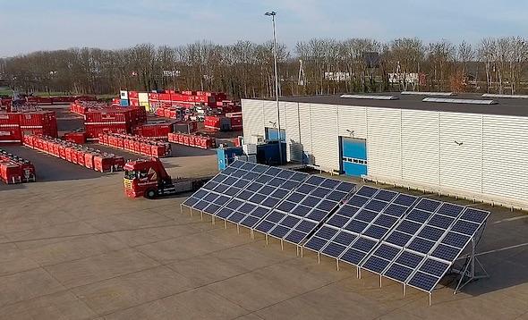 solar aggregaat bredenoord