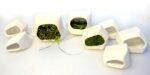 Groene muur maakt elektriciteit uit mos