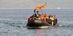 De olievluchtelingen komen er aan