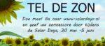Tel de Zon, check gratis de prestatie van je zonnepanelen