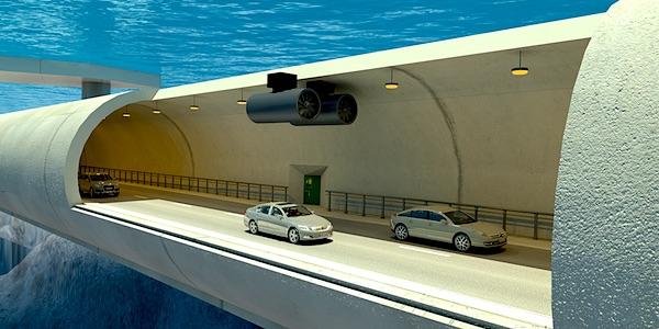 drijvende onderwatertunnel