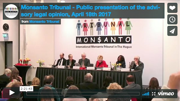 monsanto tribunaal