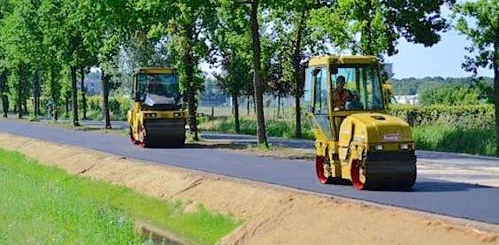 bio-asfalt wageningen
