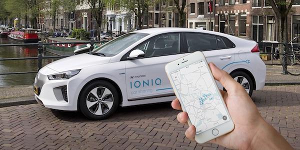 Nederland emissievrij in 2030 dankzij carsharing?
