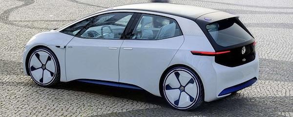 elektrische auto volkswagen id