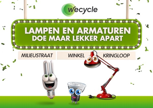 wecycle verlichting