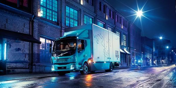 volvo elektrische truck schonere vrachtauto's