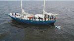 Hanna Verboom mee op plastic soep zeilexpeditie