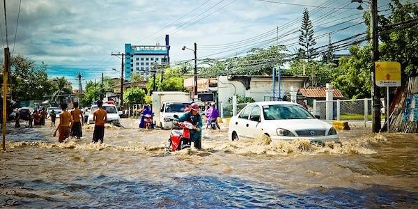 Klimaatverandering wordt grootste bedreiging van de economie