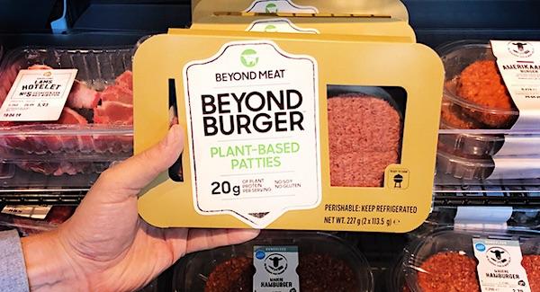 plantaardige burger beyond burger