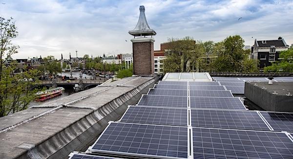 Hermitage voorbeeld verduurzamen van monumentale panden met zonnepanelen