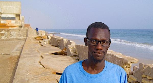 West-Afrika wordt opgeslokt door de oceaan