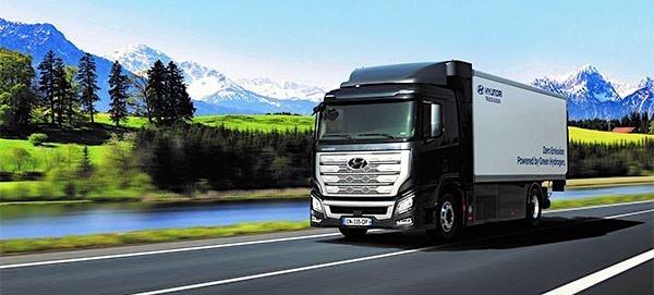 waterstof truck hyundai