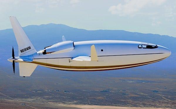 Dit vliegtuig gebruikt 80% minder brandstof