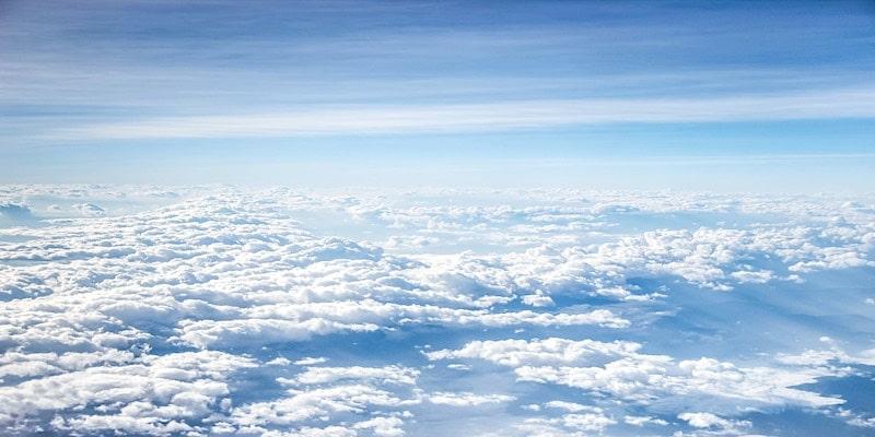 straalstromen en wolken