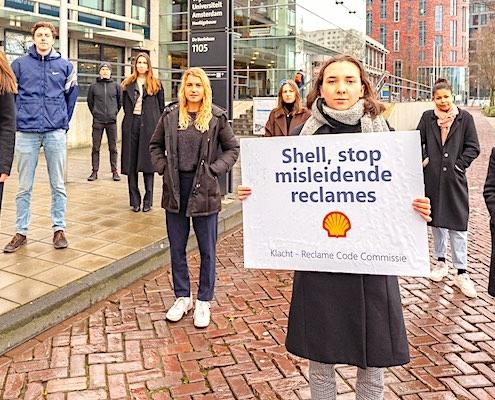 misleidende reclame shell