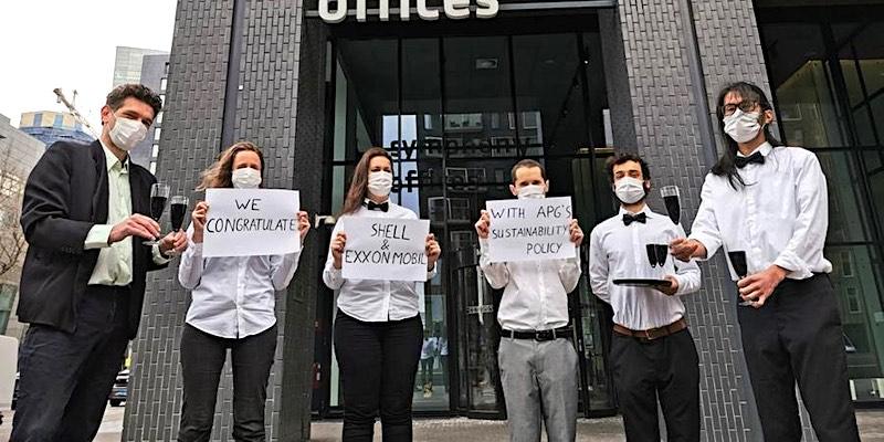 abp shell exxon protest